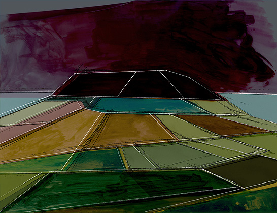 Buckton Hill Abstract One