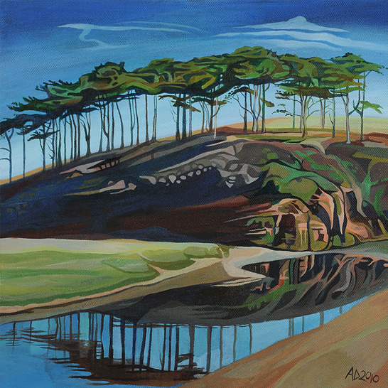 The Budleigh Trees
